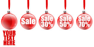 Christmas Sale Icon Stock Photography