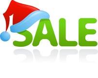 Christmas Sale Icon Stock Photo