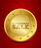 Christmas sale icon Royalty Free Stock Photography