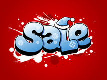 Christmas sale illustration. Royalty Free Stock Photos