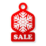 Christmas Sale Label Royalty Free Stock Photo