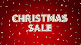 Christmas sale loop stock video