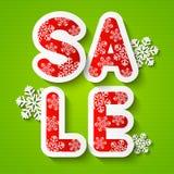 Christmas sale message Stock Photos