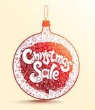 Christmas Sale. Stock Photography