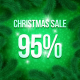 Christmas sale pine-19 Stock Photo