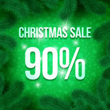 Christmas sale pine-18 Stock Photo