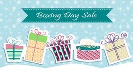 Christmas sale poster sign design Stock Photos
