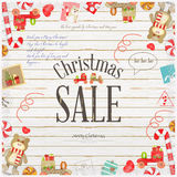 Christmas Sale Poster Stock Photos
