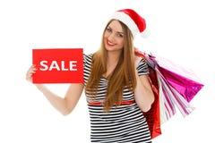 Christmas sale. Royalty Free Stock Image