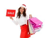 Christmas sale. Stock Image