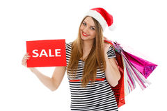 Christmas sale. Royalty Free Stock Photos