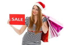 Christmas sale. Stock Photos