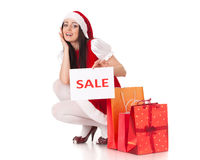 Christmas sale. Royalty Free Stock Images