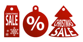 Christmas Sale Vector Royalty Free Stock Images