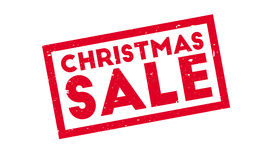 Christmas Sale rubber stamp Stock Images