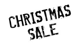 Christmas Sale rubber stamp Royalty Free Stock Images