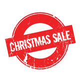 Christmas Sale rubber stamp Stock Photo