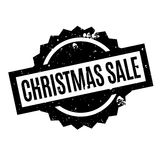 Christmas Sale rubber stamp Stock Image