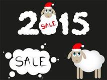 Christmas Sale sheep 2015 Stock Photography