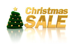 Christmas sale sign Stock Images