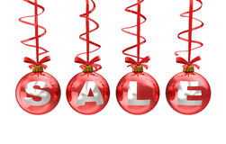 Christmas Sale Sign Royalty Free Stock Photography