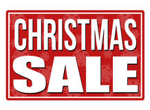 Christmas sale stamp Royalty Free Stock Photos