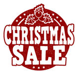 Christmas sale stamp Stock Photography