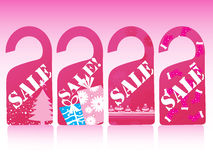 Christmas  sale tag,  Stock Images