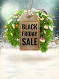 Christmas Sale tag. EPS 10 Royalty Free Stock Photo