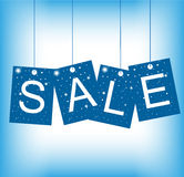 Christmas Sale Tag Royalty Free Stock Images