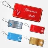 Christmas Sale Tags Royalty Free Stock Photo
