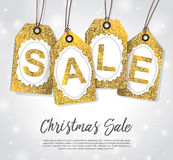 Christmas sale Royalty Free Stock Photo