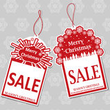 Christmas Sale Tags Stock Photos