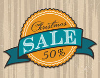 Christmas Sale Tags Stock Images