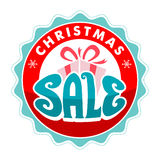 Christmas Sale Tags Royalty Free Stock Photos