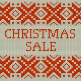 Christmas sale template banner. EPS 10 vector. Christmas sale template banner. And also includes EPS 10 vector Royalty Free Stock Image