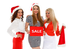 Christmas sale. Stock Photos