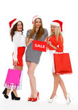 Christmas sale. Stock Images