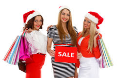 Christmas sale. Royalty Free Stock Photo