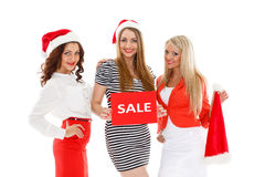 Christmas sale. Royalty Free Stock Image