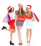 Christmas sale. Royalty Free Stock Photography
