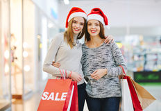 Christmas sale Royalty Free Stock Photos
