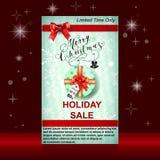 Christmas sale web banners Stock Photos