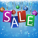 Christmas Sale Royalty Free Stock Photography