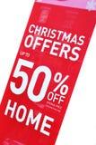 Christmas sales Stock Image
