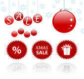 Christmas sales Royalty Free Stock Photography
