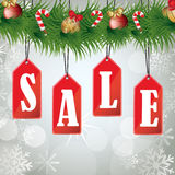 Christmas sales Stock Photo