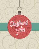 Christmas sales Royalty Free Stock Images