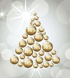 Christmas sales Royalty Free Stock Photo
