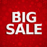 Christmas sales background Royalty Free Stock Images